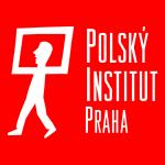 Logo Instytut Polski w Pradze czerwony