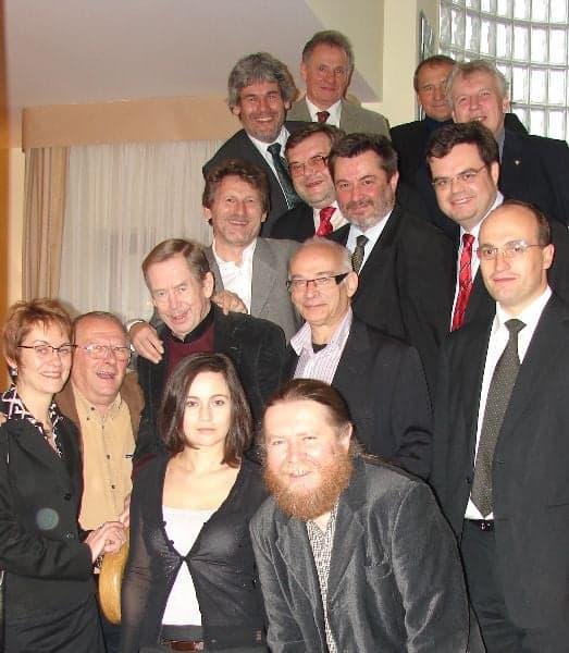 Spotkanie w czeskiej ambasadzie